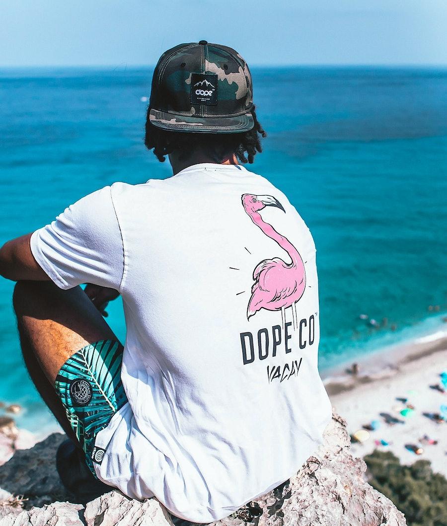 Dope Flamingo T-shirt White