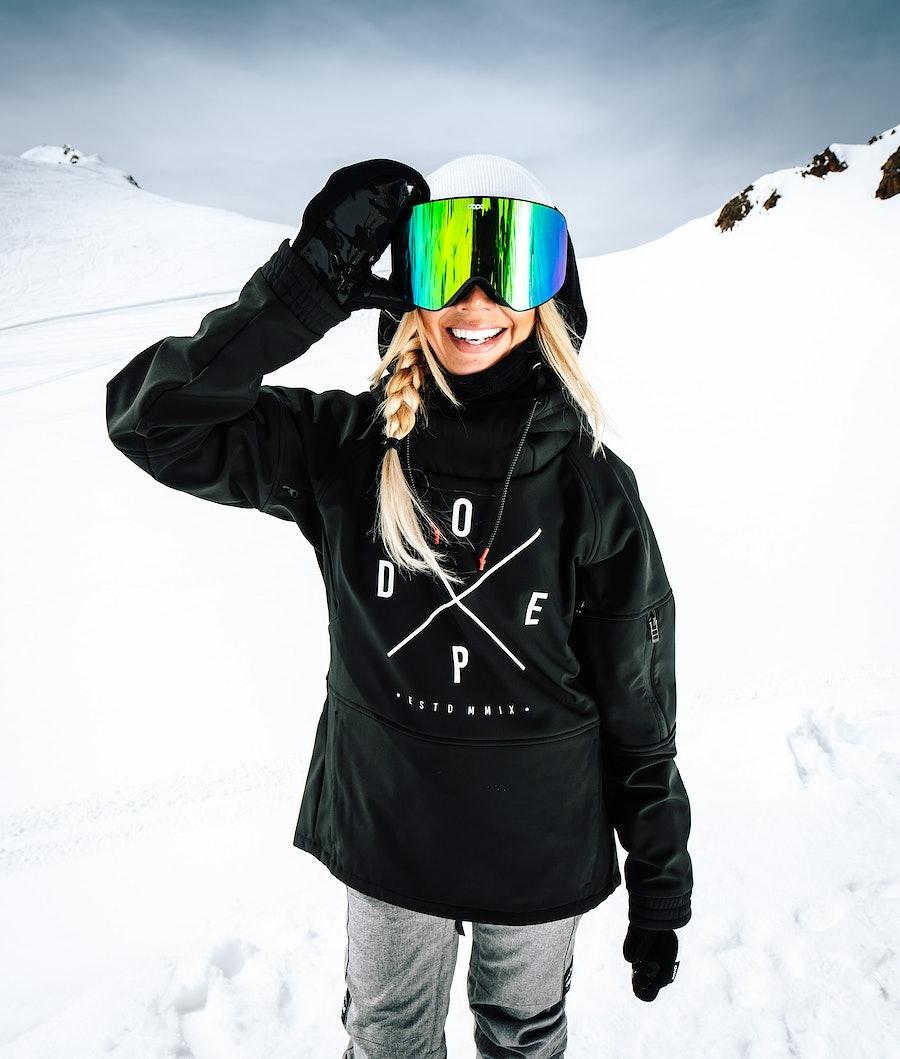 Dope Rambler MTE W Snowboardjacka Dam Black