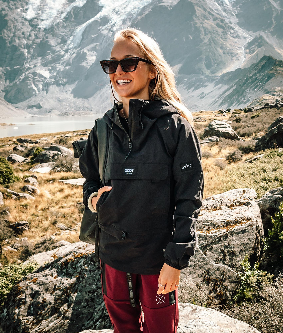 Dope Hiker W Outdoorjacke Black