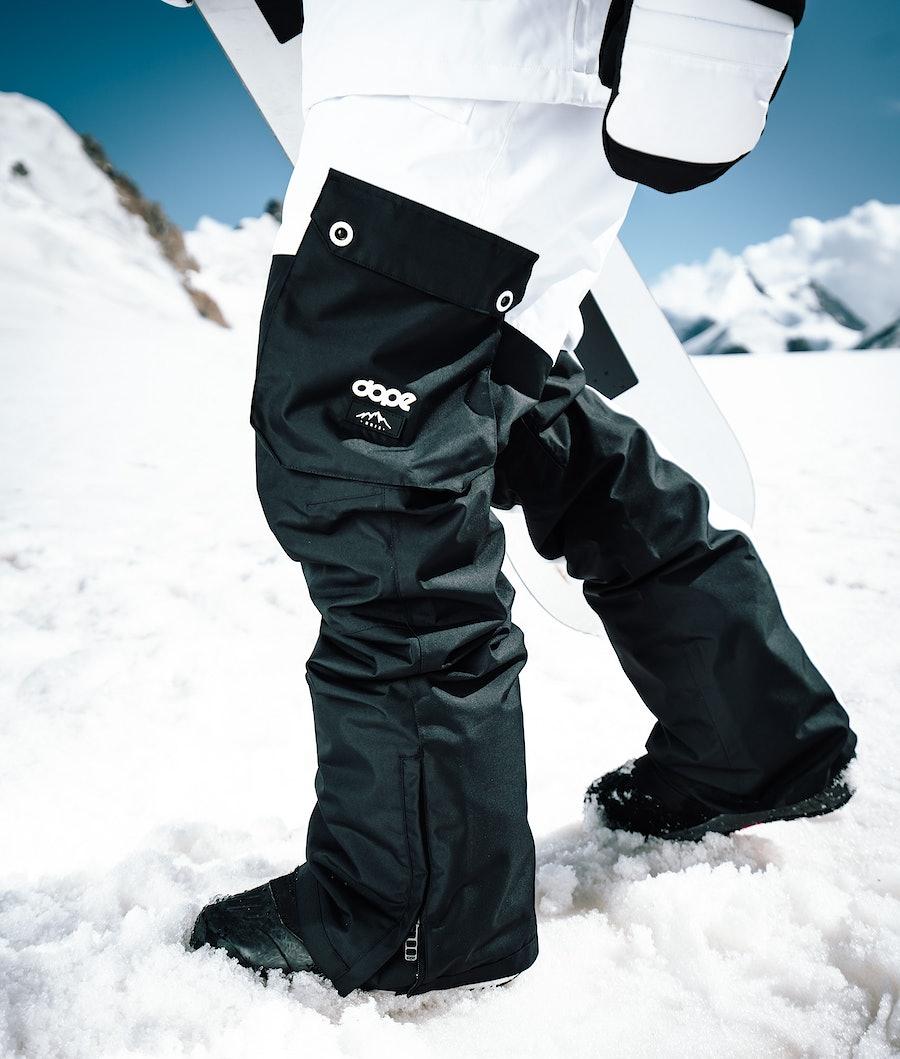 Dope Adept Snowboardbukse Black/White