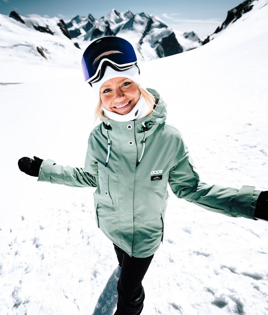 Dope Adept W Veste de Snowboard Femme Faded Green