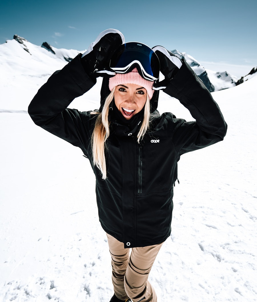Dope Divine Skijakke Dame Black