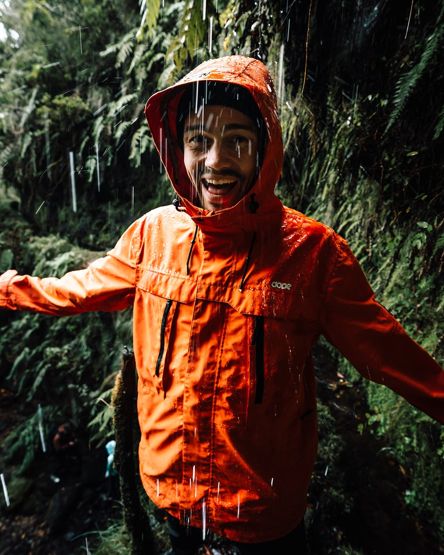 Dope Trekker Outdoor Jacka Orange