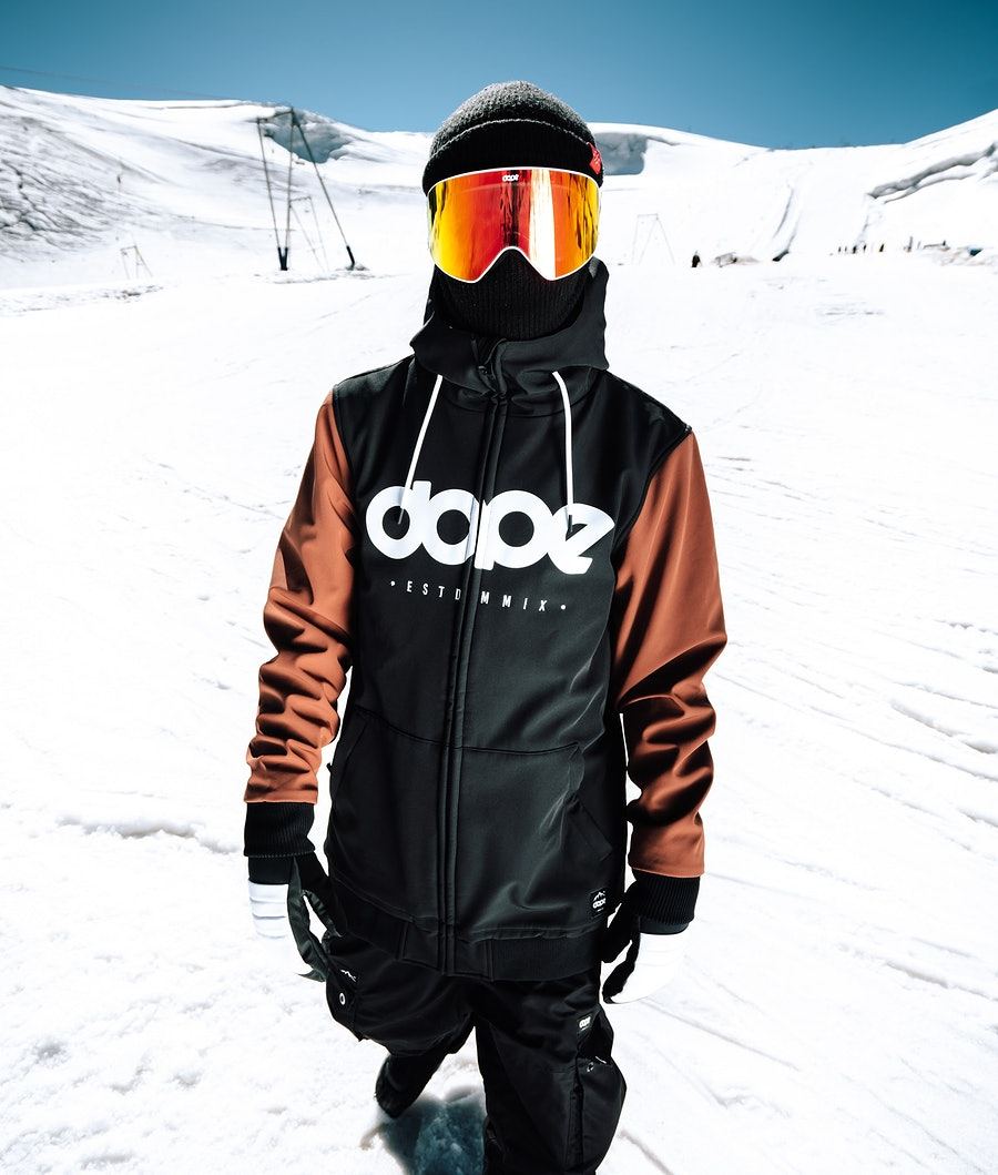 Dope Standard DO Giacca da Snowboard Black/Adobe