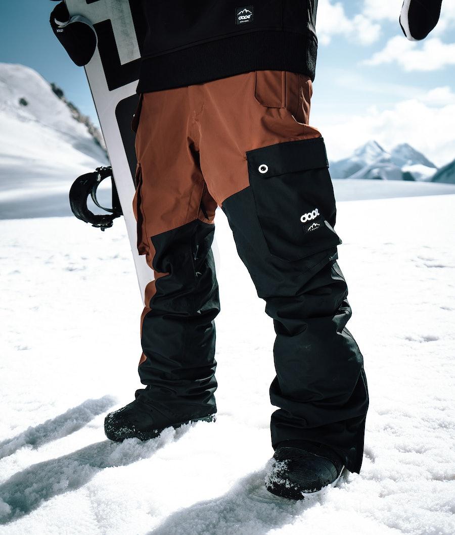 Dope Adept Snowboardbukse Adobe/Black