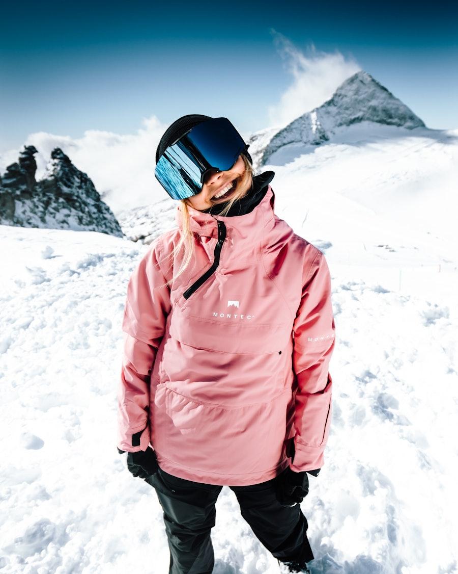 Montec Dune W Snowboardjacka Dam Pink