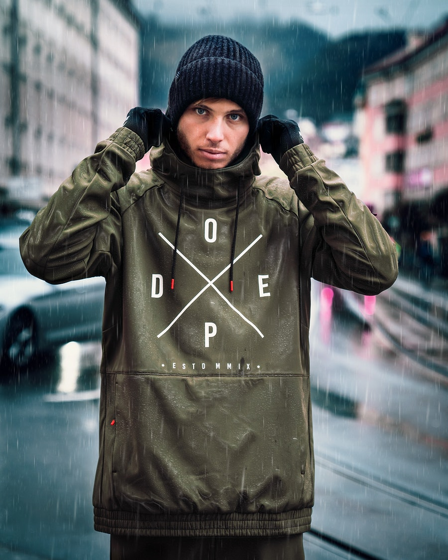 Dope Rambler Outdoor Jacket Green