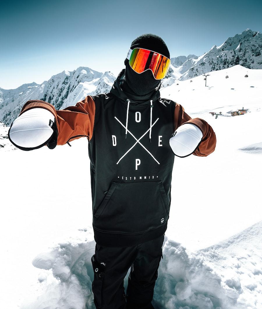Dope Yeti Skijakke Black/Adobe