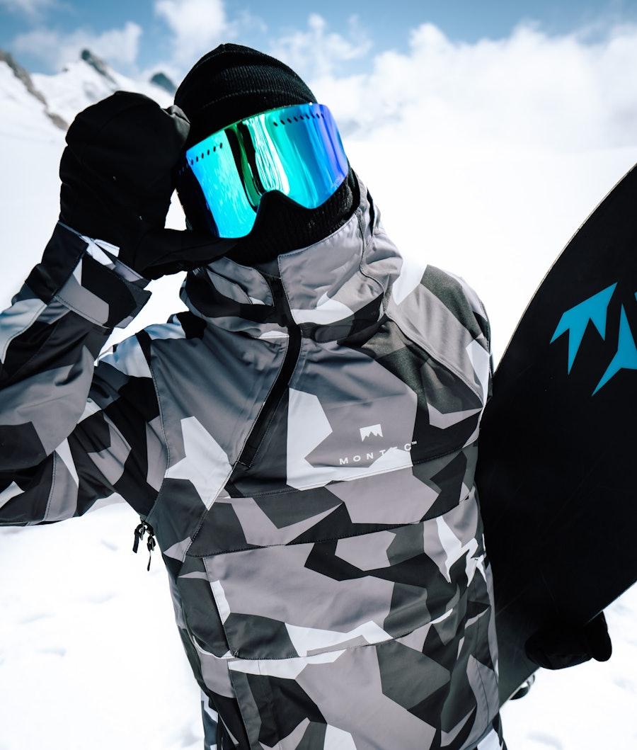 Montec Dune Giacca da Snowboard Arctic Camo