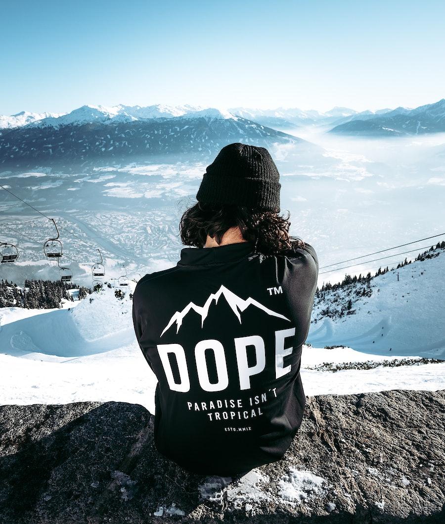 Dope Snuggle Paradise Base Layer Top Black