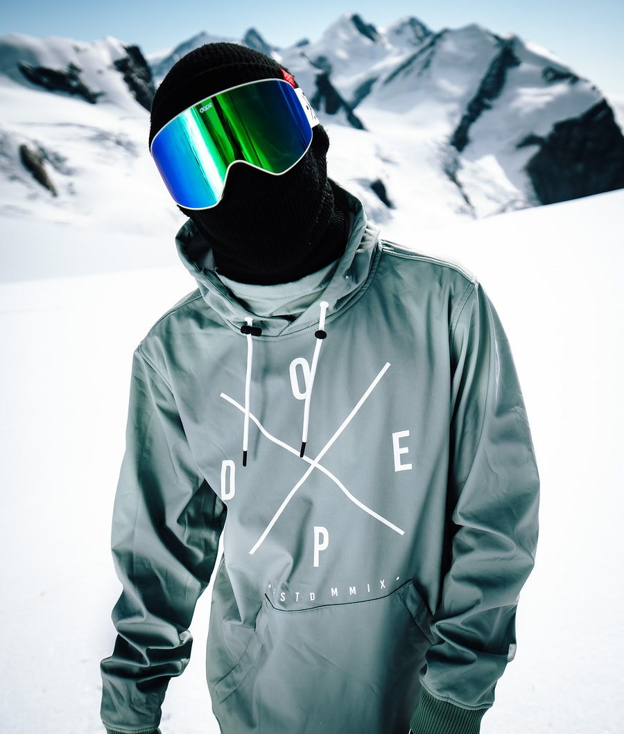 Dope Yeti Snowboardjacka Faded Green