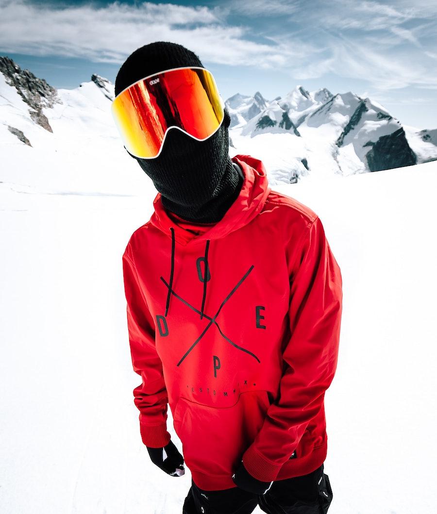 Dope Yeti Snowboard Jacket Red