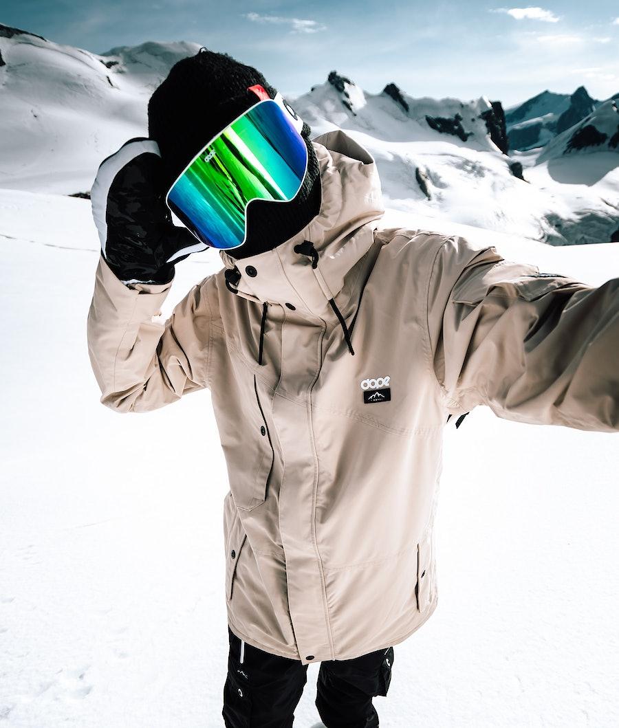 Dope Adept Giacca da snowboard Sand