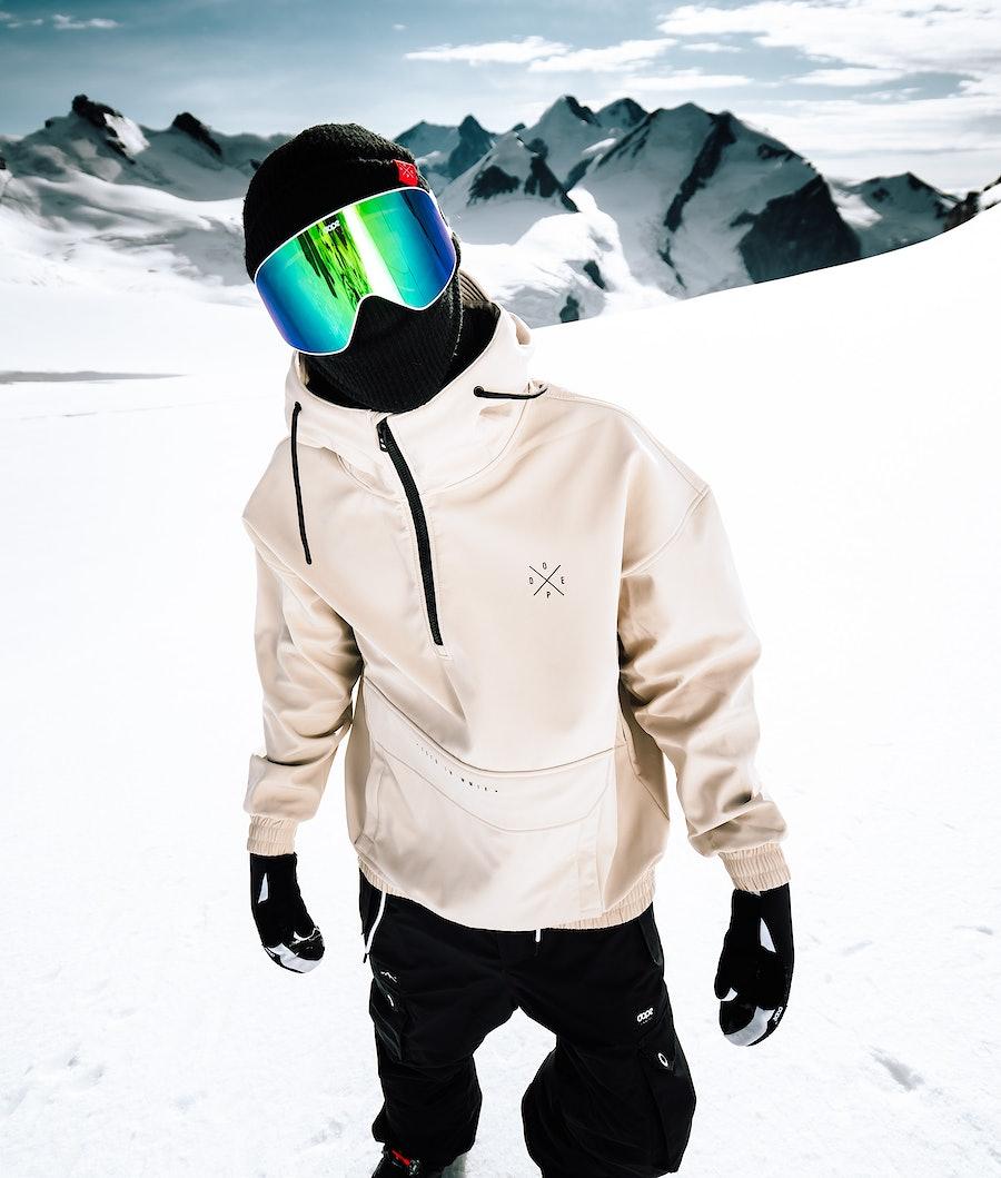 Dope Cyclone Ski Jacket Sand