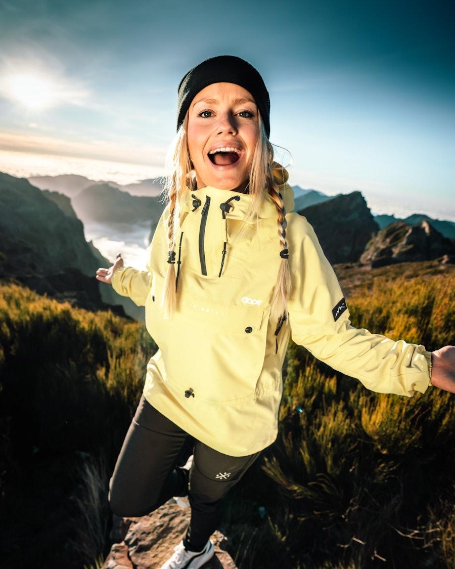 Dope Hiker W Outdoor Jacka Dam Yellow
