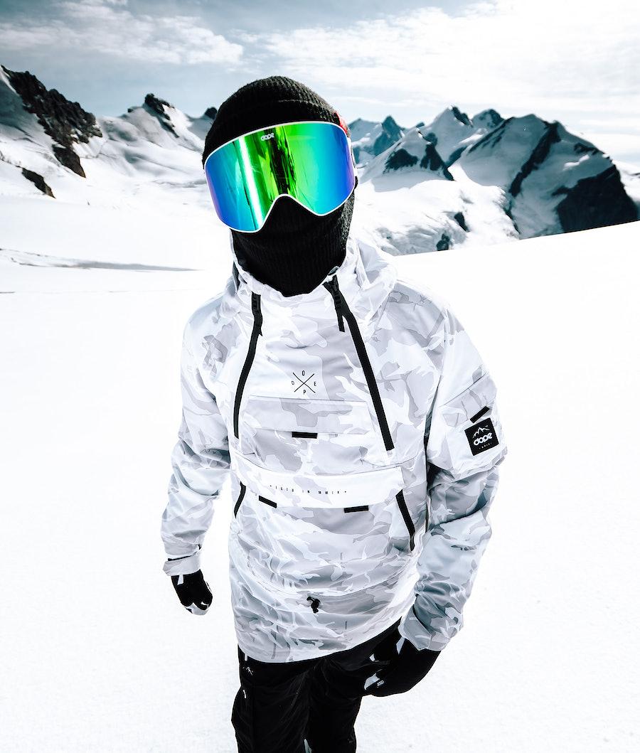 Dope Akin Veste de Snowboard Tux Camo