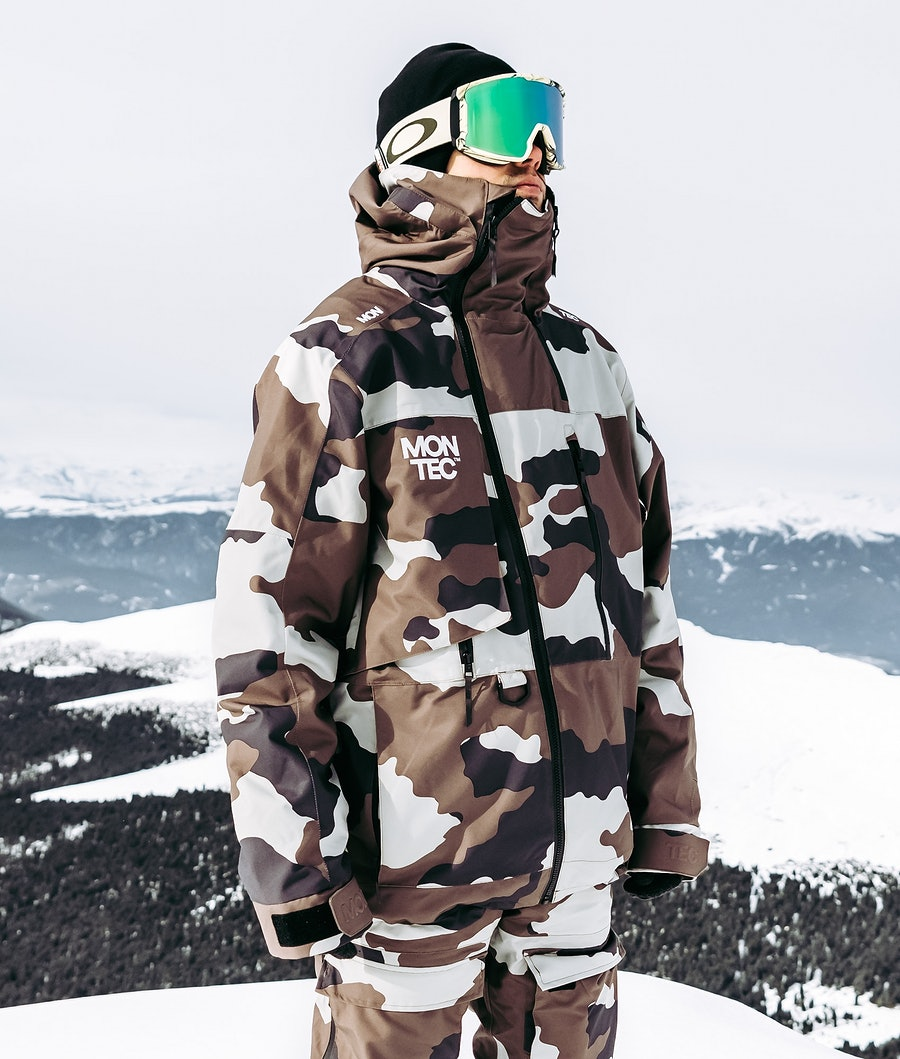 Montec Mount Snøscooterjakke Earth Camo