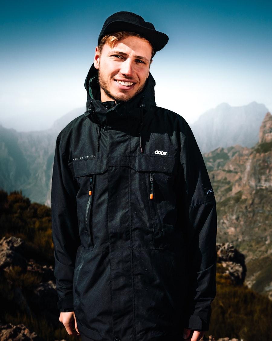 Dope Trekker Outdoor Jacka Black
