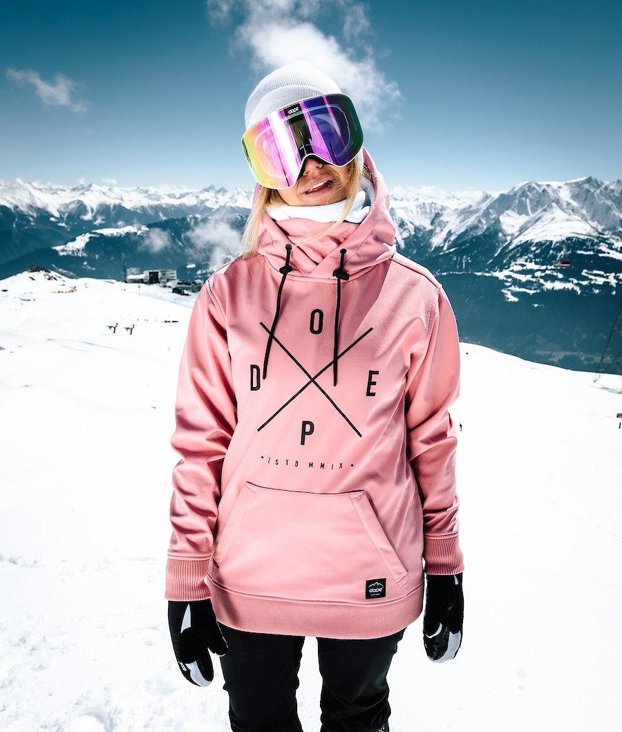 Dope Yeti W Giacca da Snowboard Donna Pink