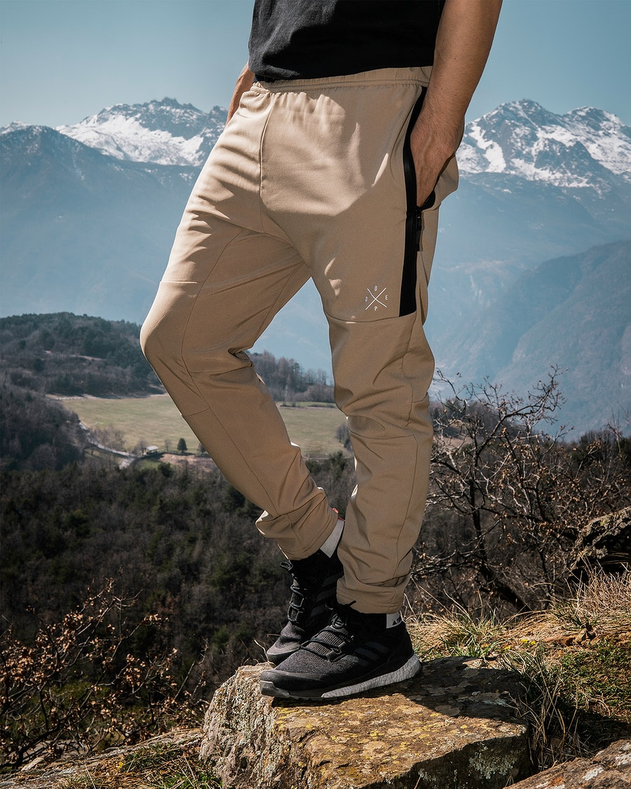 Dope Rambler Outdoor Trousers Khaki