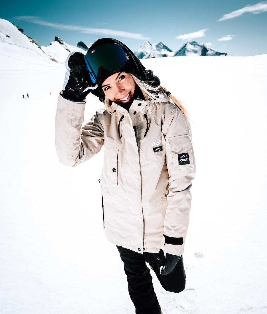 Dope Adept W Snowboardjakke Dame Sand