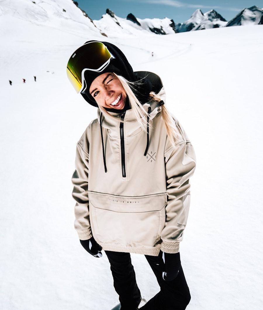 Dope Cyclone W Giacca da Snowboard Donna Sand