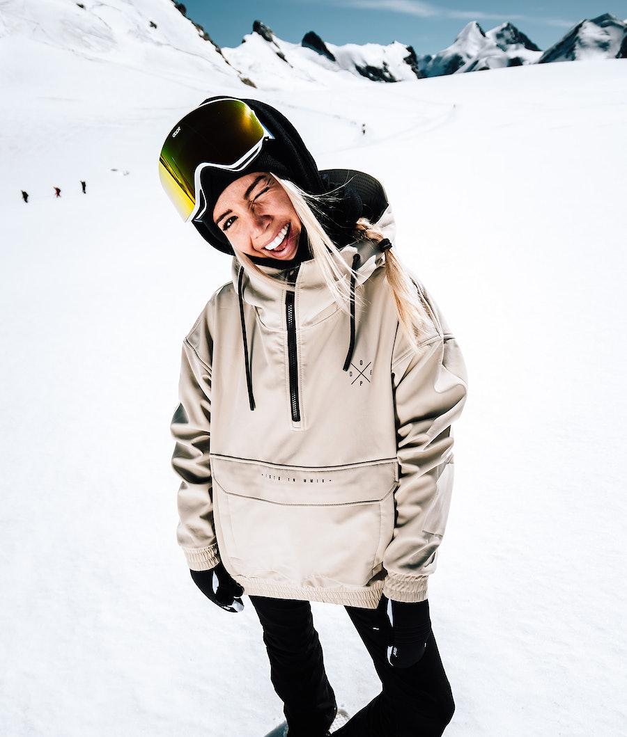 Dope Cyclone W Snowboardjacka Sand