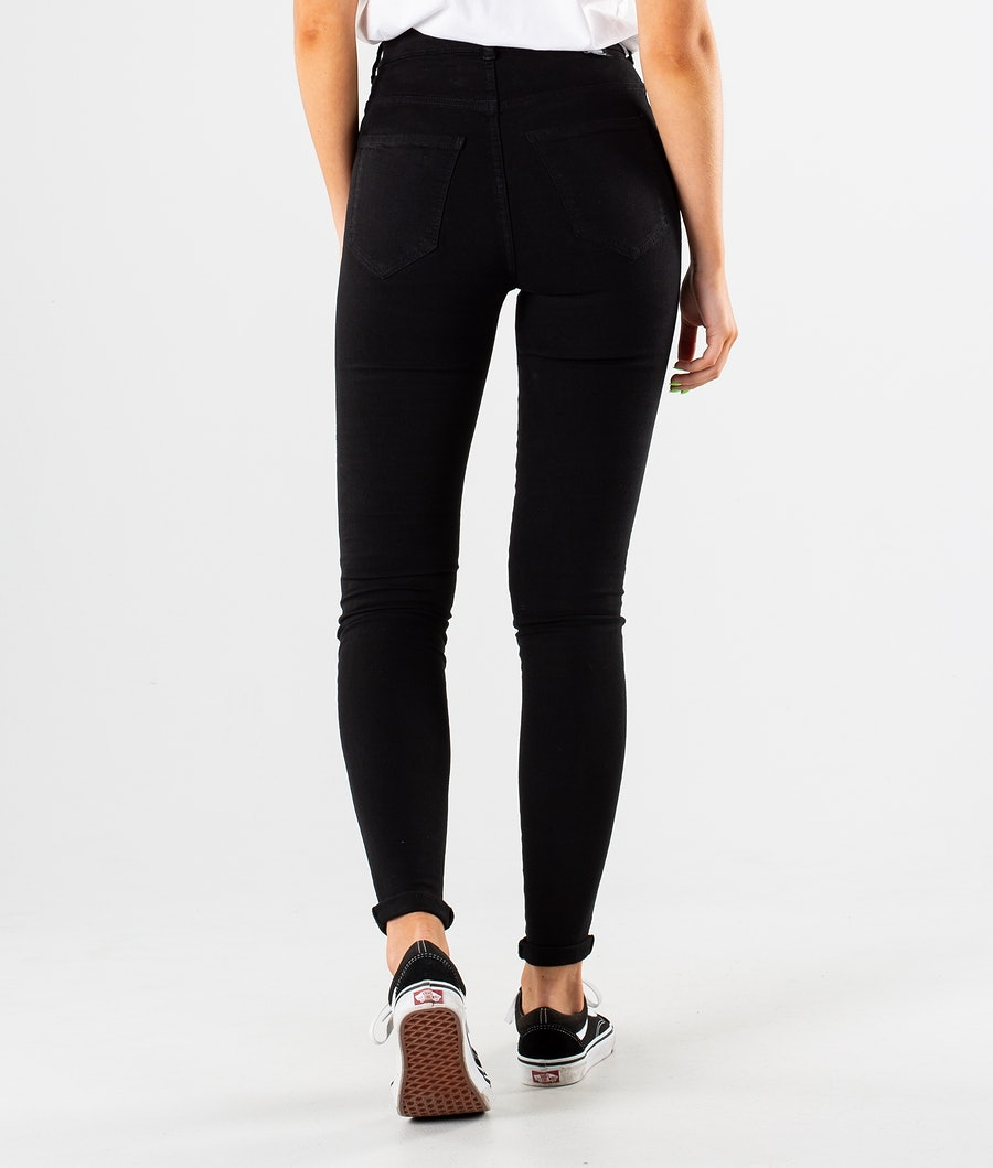 Dr Denim Solitaire Hosen Damen Black