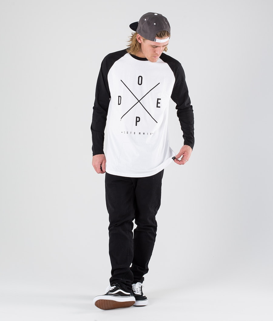 Dope 2X-Up Longsleeve White/Black