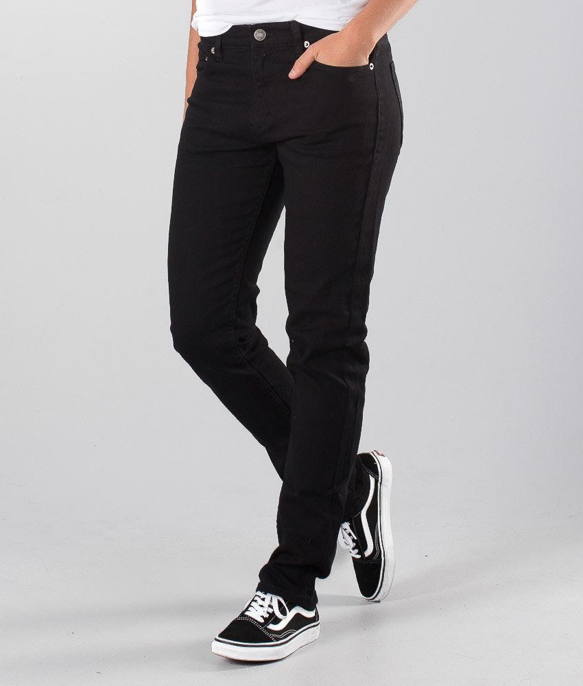 Sweet SKTBS Sweet Slim Colored  Unisex Bukser Black