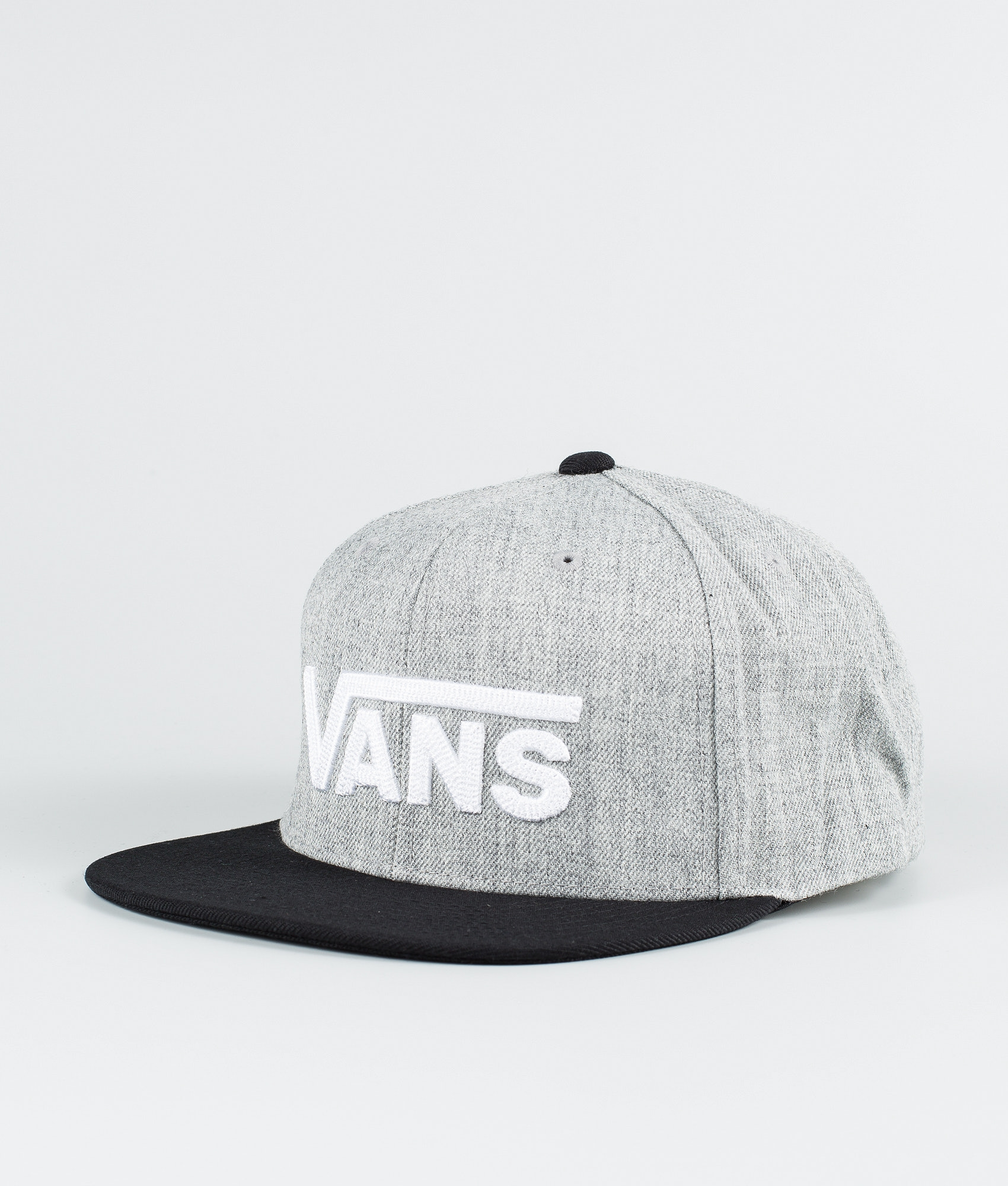 2b7872fa Vans Drop V II Snapback Cap Heather Grey/Black - Ridestore.com