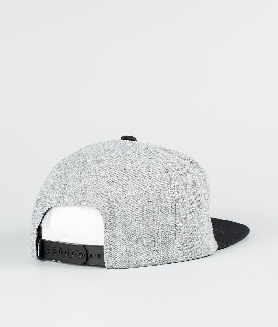 Vans Drop V II Snapback Keps Heather Grey/Black