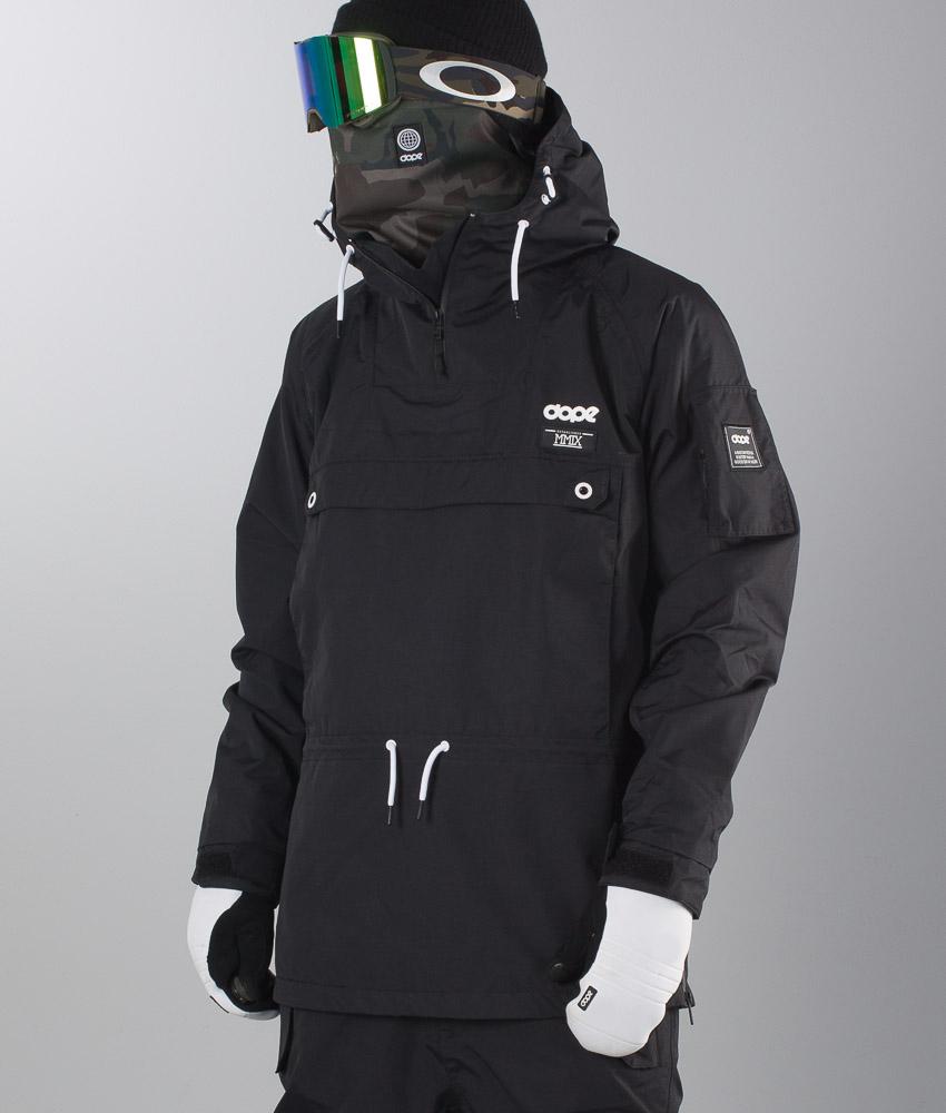 3ea7acc0 Dope Annok Snowboardjakke Black - Ridestore.no