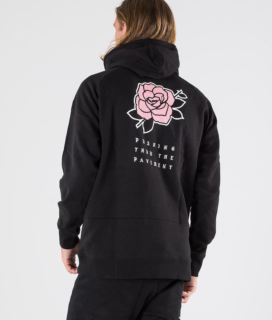 Dope Rose Hood Black