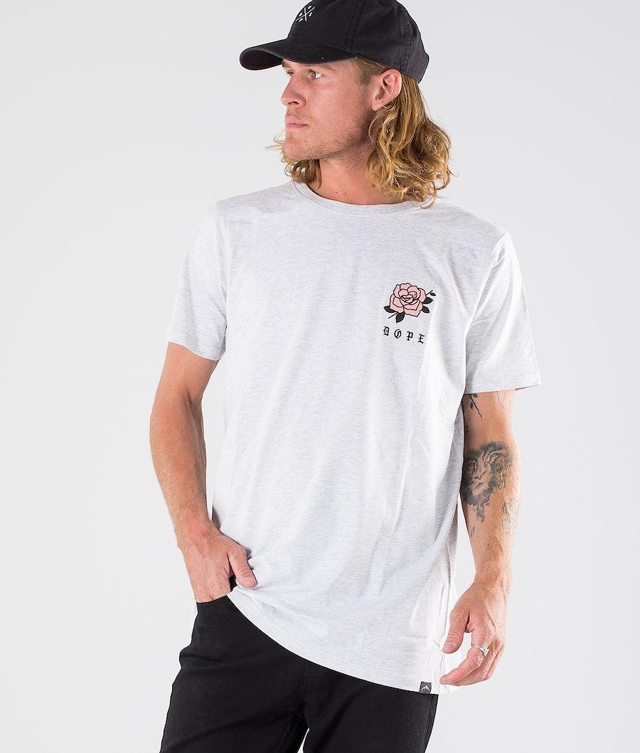 Dope ROSE T-shirt Greymelange