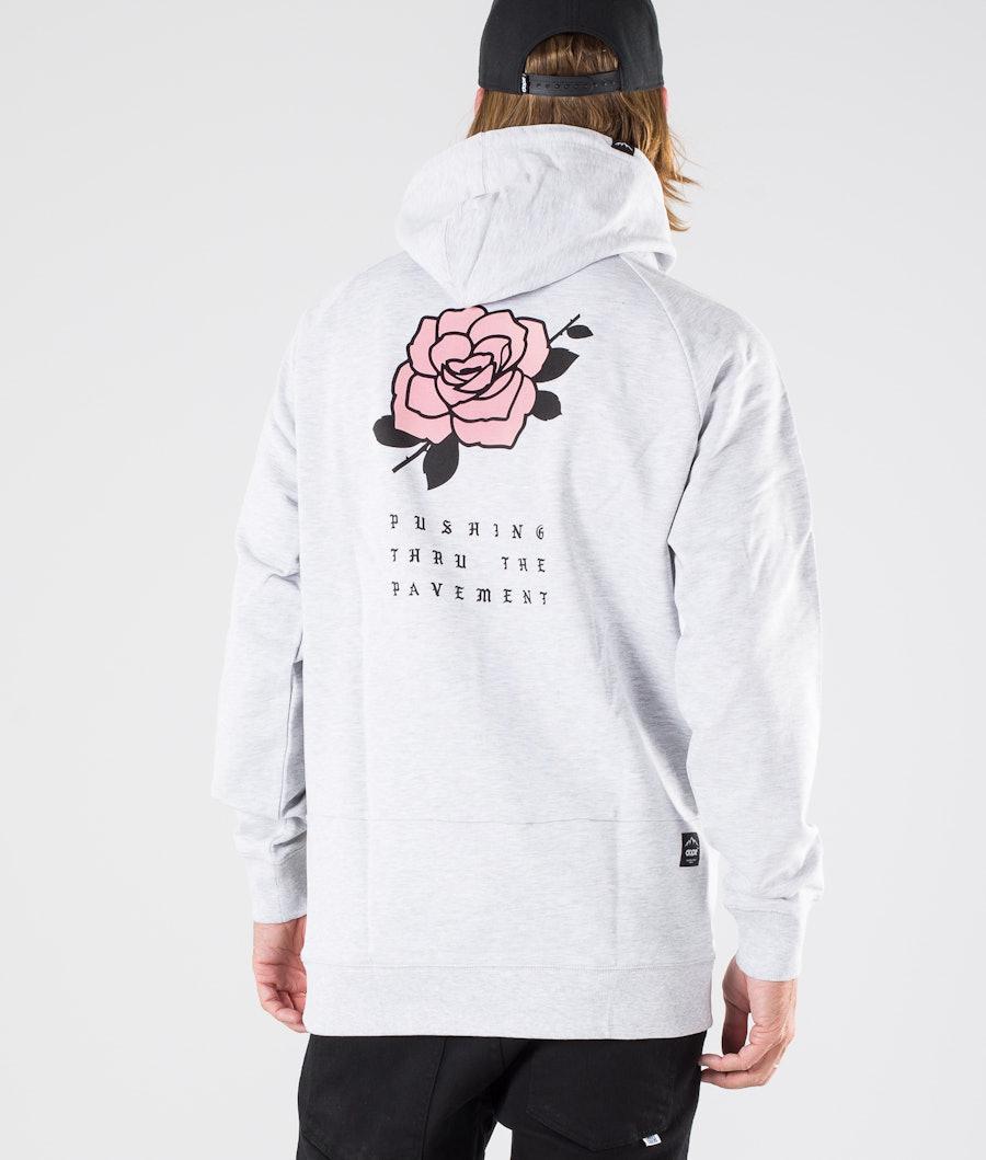 Dope ROSE Hood Greymelange