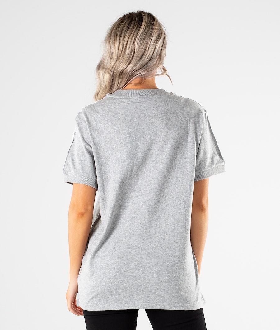 Adidas Originals 3 Stripes T-shirt Donna Medium Grey Heather