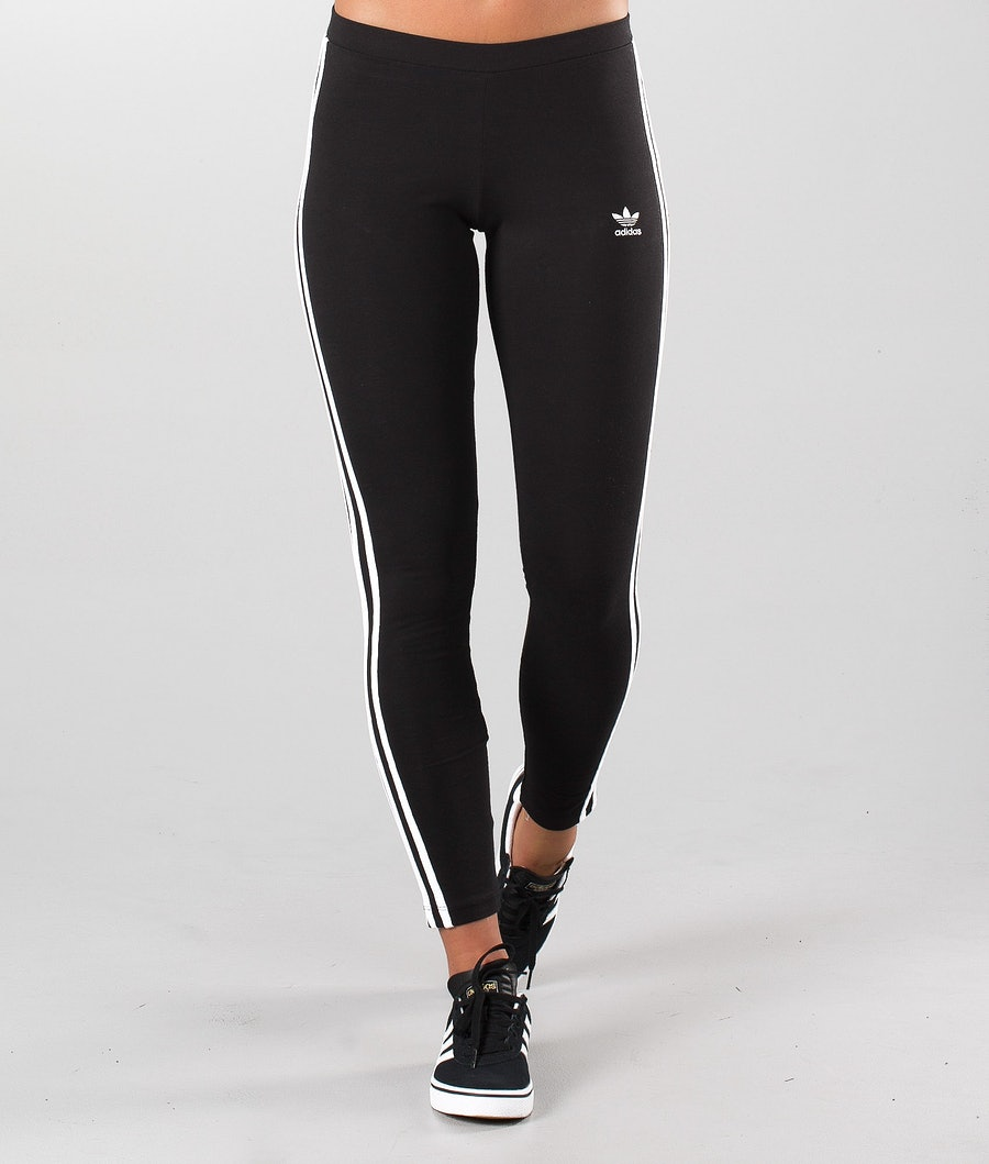 Adidas Originals 3-Stripes Leggings Dam Black