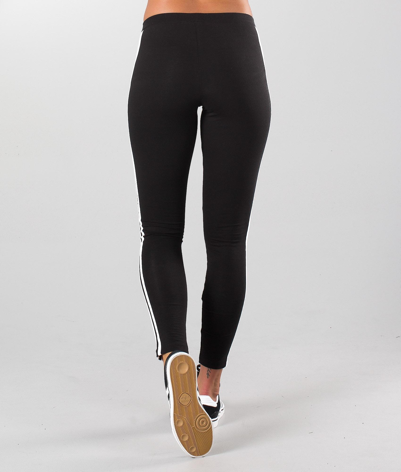 97fcc60693c8e Adidas Originals 3-Stripes Leggings Black