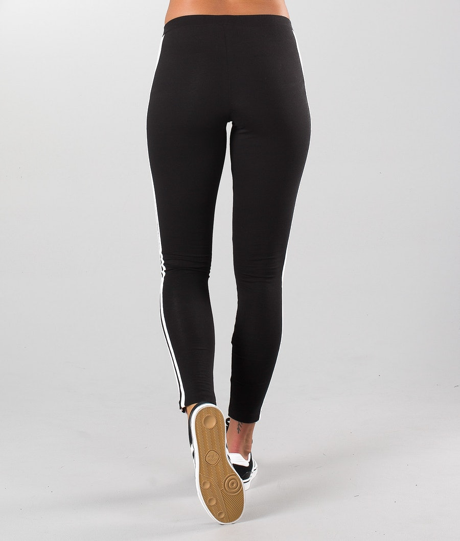 Adidas Originals 3-Stripes Leggings Dame Black