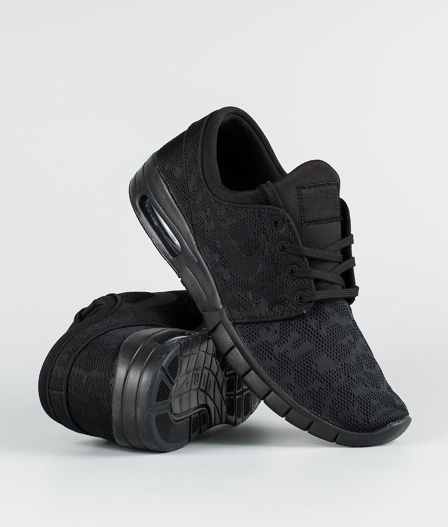 Nike Stefan Janoski Max Schoenen Black/Black-Anthracite