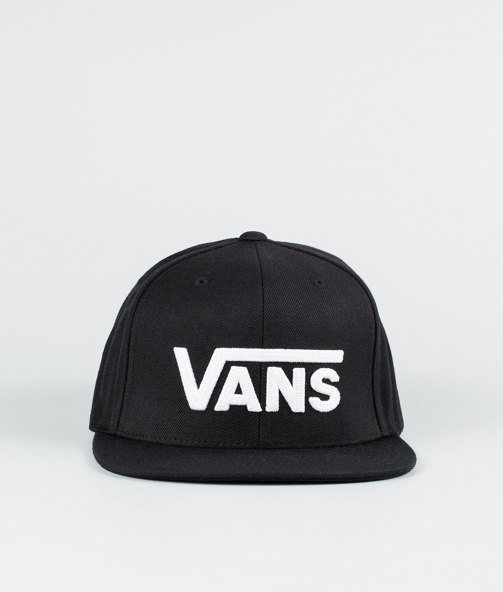 Vans Drop V II Snapback Cap Black White - Ridestore.de 280ae9ce49