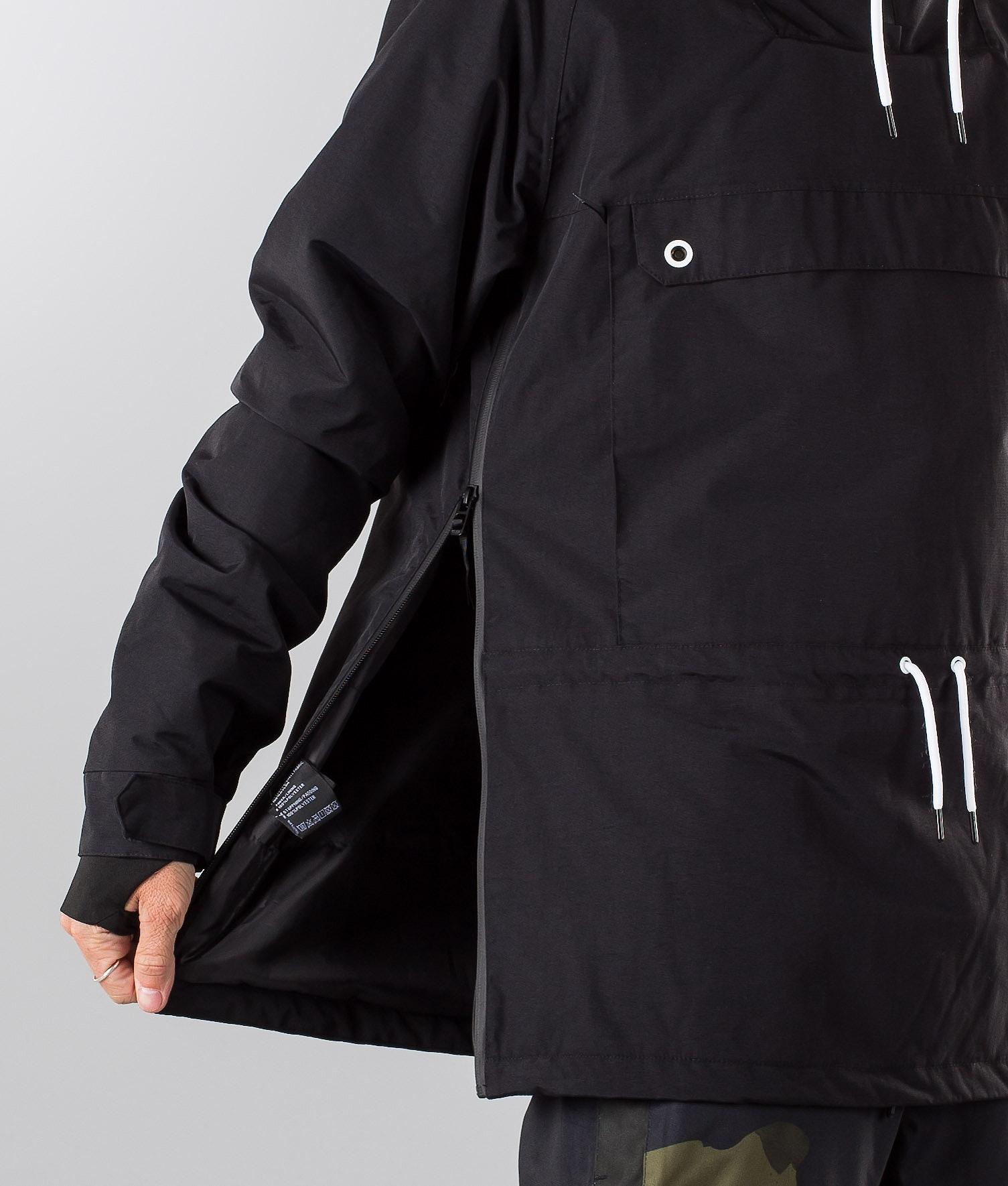 e85154e9c Dope Annok Ski Jacket Black - Ridestore.com