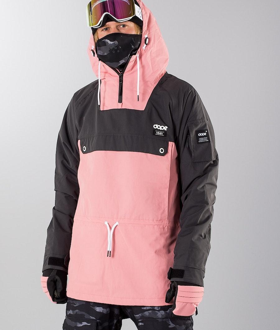 Dope Annok 18 Renewed Snowboardjacka Dark Grey/Pink