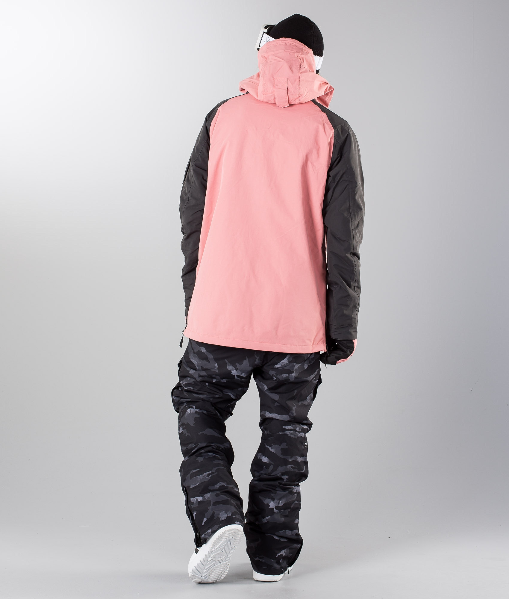 b50b6d878718 Dope Annok Snowboardjacka Dark Grey/Pink - Ridestore.se