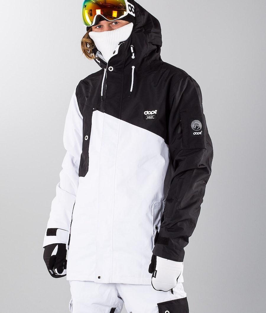 Dope Adept 18 Renewed Snowboardjacka Black/White