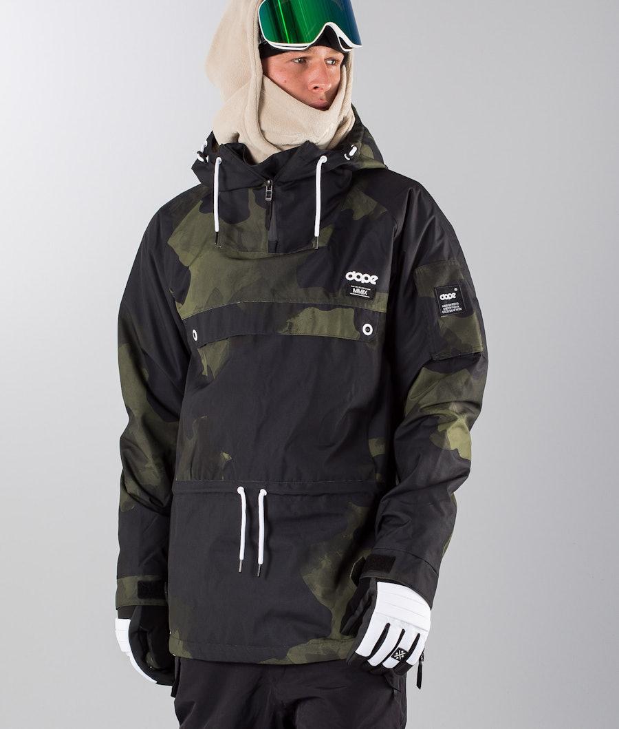 Dope Annok 18 Snowboard Jacket Green Camo