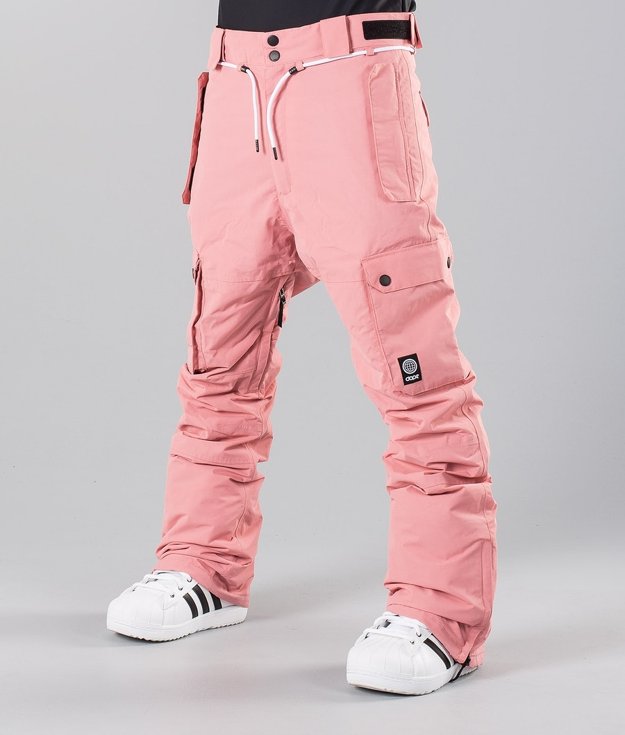 Dope Iconic 18 Snow Pants Pink