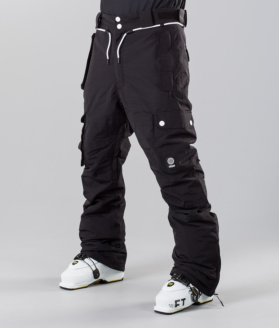 Dope Iconic 18 Pantalon de Ski Black