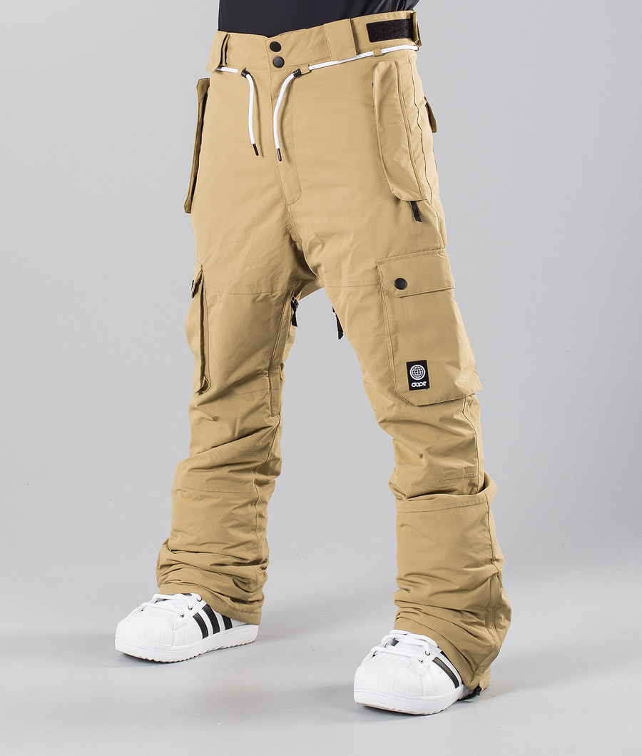 Dope Iconic 18 Pantalon de Snowboard Khaki